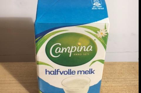 Halfvolle melk 1/2 liter